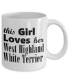West Highland White Terrier - 11oz Mug - Unique Gifts Store