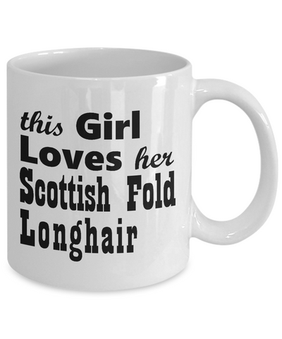 Scottish Fold Longhair - 11oz Mug - Unique Gifts Store