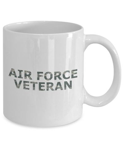 Air Force Veteran - 11oz Mug - Unique Gifts Store