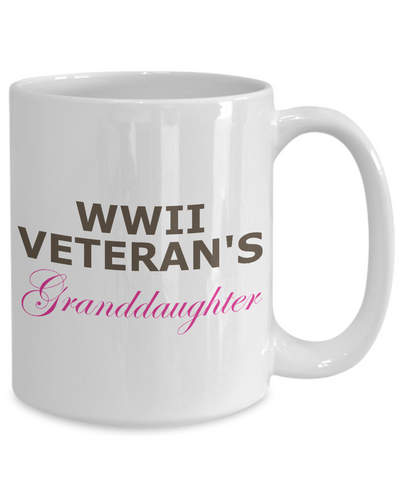WWII Veteran's Granddaughter - 15oz Mug