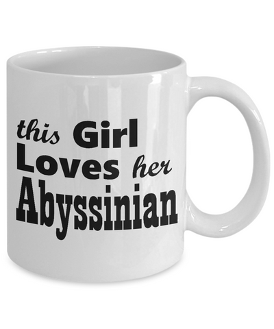 Abyssinian - 11oz Mug - Unique Gifts Store