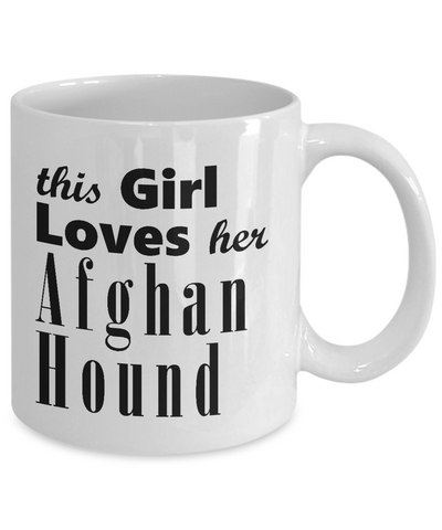 Afghan Hound - 11oz Mug - Unique Gifts Store