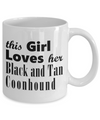 Black and Tan Coonhound - 11oz Mug - Unique Gifts Store