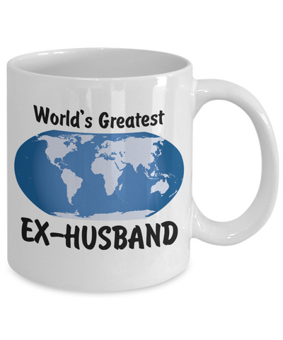 World's Greatest Ex-Husband - 11oz Mug - Unique Gifts Store