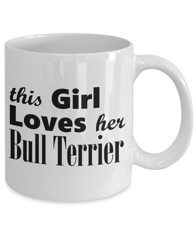 Bull Terrier - 11oz Mug - Unique Gifts Store