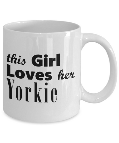 Yorkie - 11oz Mug - Unique Gifts Store