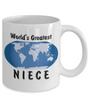 World's Greatest Niece - 11oz Mug - Unique Gifts Store