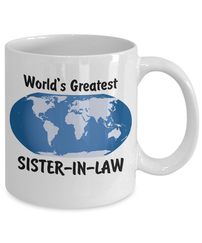 World's Greatest Sister-in-law - 11oz Mug - Unique Gifts Store