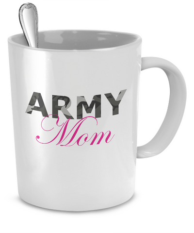 Army Mom - Mug - Unique Gifts Store