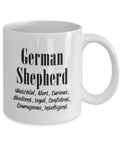 The German Shepherd - 11oz Mug