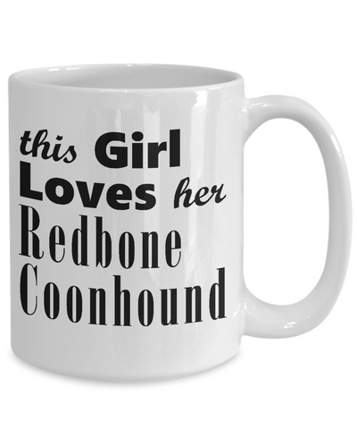 Redbone Coonhound - 15oz Mug