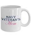 Navy Veteran's Mom - 11oz Mug - Unique Gifts Store