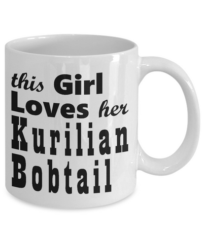Kurilian Bobtail - 11oz Mug - Unique Gifts Store