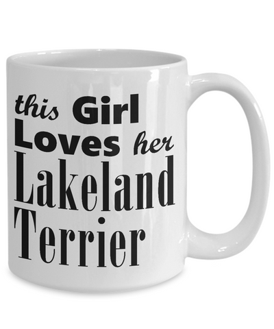 Lakeland Terrier - 15oz Mug