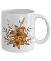 Tiger Lily Bouquet v2 - 11oz Mug - Unique Gifts Store