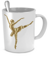 Graceful Ballerina - 11oz Mug - Unique Gifts Store