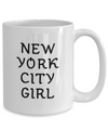 New York City Girl - 15oz Mug - Unique Gifts Store
