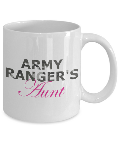 Army Ranger's Aunt - 11oz Mug - Unique Gifts Store