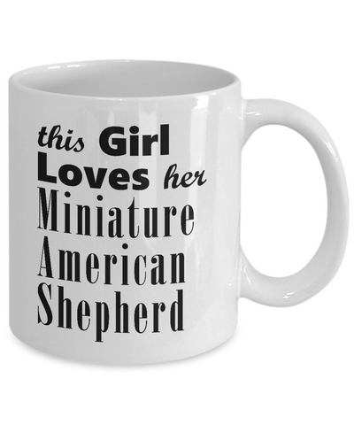 Miniature American Shepherd - 11oz Mug - Unique Gifts Store
