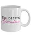 Soldier's Grandma - 11oz Mug - Unique Gifts Store