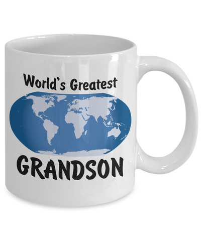 World's Greatest Grandson - 11oz Mug - Unique Gifts Store