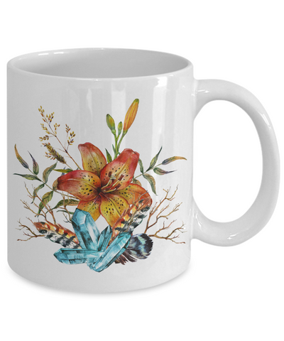 Tiger Lily Bouquet - 11oz Mug