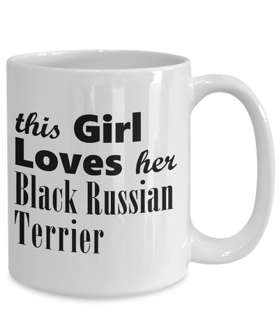 Black Russian Terrier - 15oz Mug