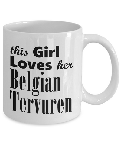 Belgian Tervuren - 11oz Mug - Unique Gifts Store