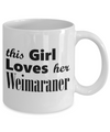 Weimaraner - 11oz Mug - Unique Gifts Store
