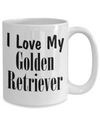 Love My Golden Retriever - 15oz Mug
