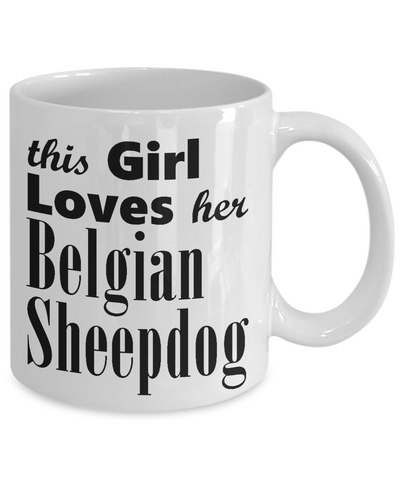 Belgian Sheepdog - 11oz Mug