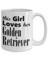 Golden Retriever - 15oz Mug - Unique Gifts Store