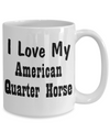 Love My American Quarter Horse - 15oz Mug