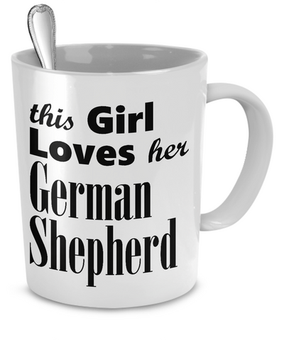 German Shepherd Dog - Mug - Unique Gifts Store