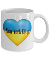 Ukrainian In New York City - 11oz Mug - Unique Gifts Store