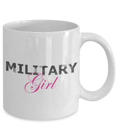 Military Girl - 11oz Mug - Unique Gifts Store
