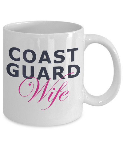 Coast Guard Wife - 11oz Mug - Unique Gifts Store