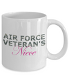 Air Force Veteran's Niece - 11oz Mug - Unique Gifts Store