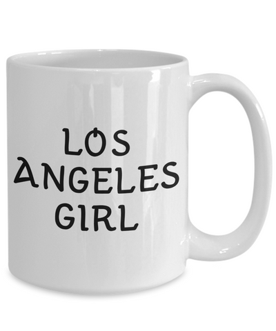 Los Angeles Girl - 15oz Mug - Unique Gifts Store