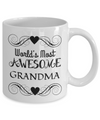 Awesome Grandma - 11oz Mug