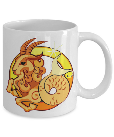Zodiac Sign Capricorn - 11oz Mug