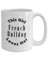 French Bulldog v2c - 15oz Mug