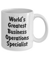 World's Greatest Business Operations Specialist v2 - 11oz Mug