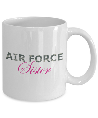 Air Force Sister - 11oz Mug