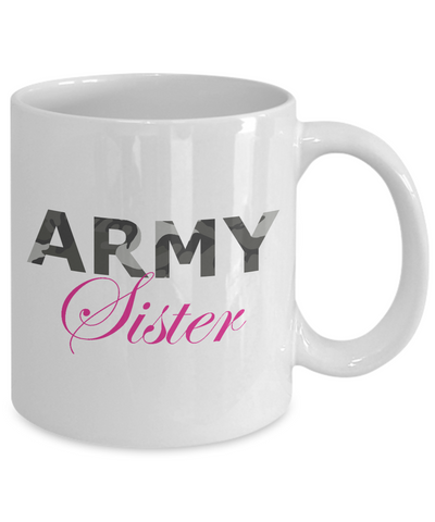 Army Sister - 11oz Mug - Unique Gifts Store