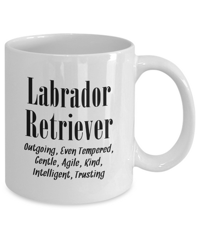 The Labrador Retriever - 11oz Mug