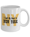 Heart In New York - 11oz Mug - Unique Gifts Store