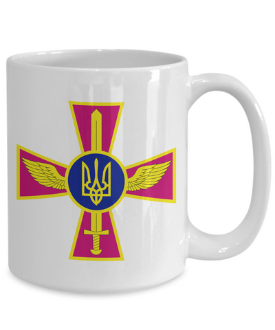 Ukrainian Air Force - 15oz Mug