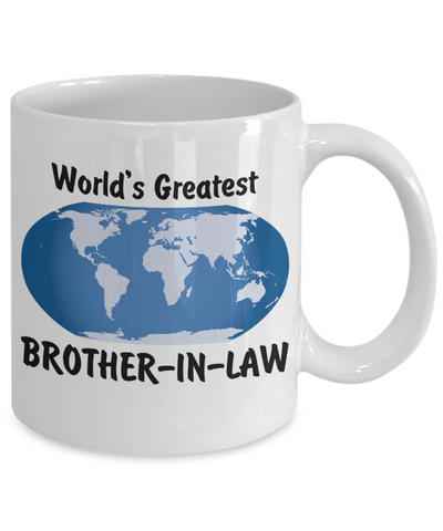 World's Greatest Brother-in-law - 11oz Mug - Unique Gifts Store
