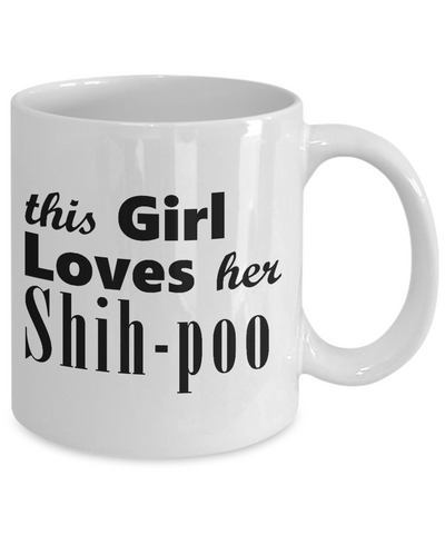 Shih-poo - 11oz Mug - Unique Gifts Store